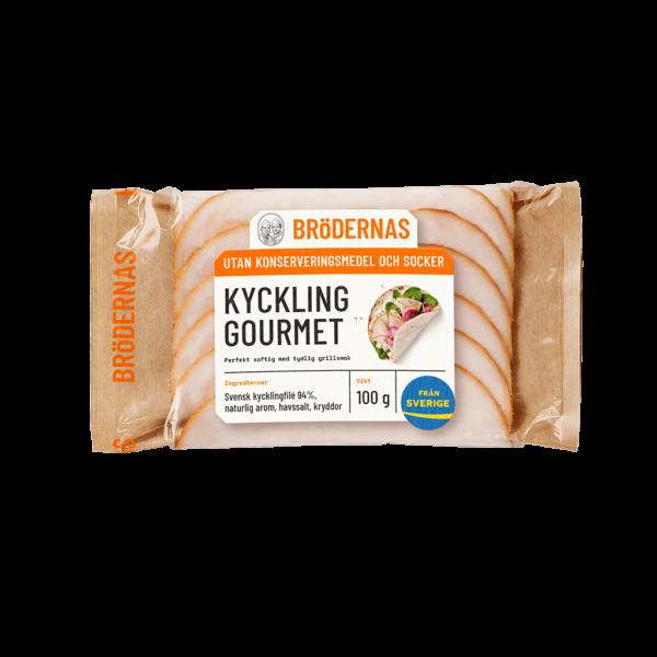 Brödernas Kycklingfilé Gourmet 100g